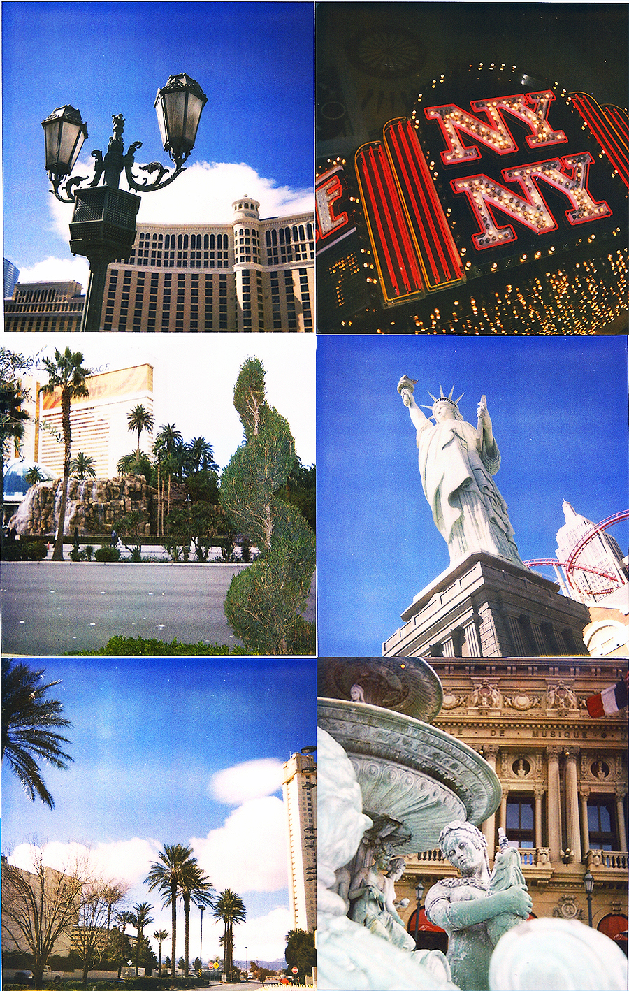 las vegas polaroid photo