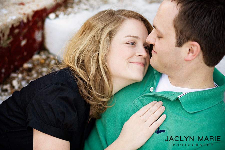 Lawrence engagement photo