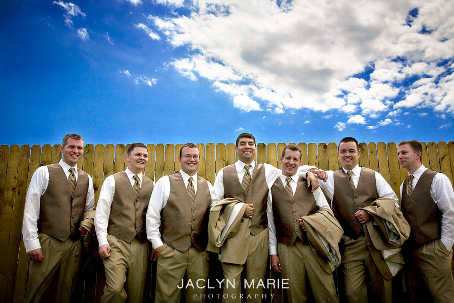 Wedding Party - groomsmen photo