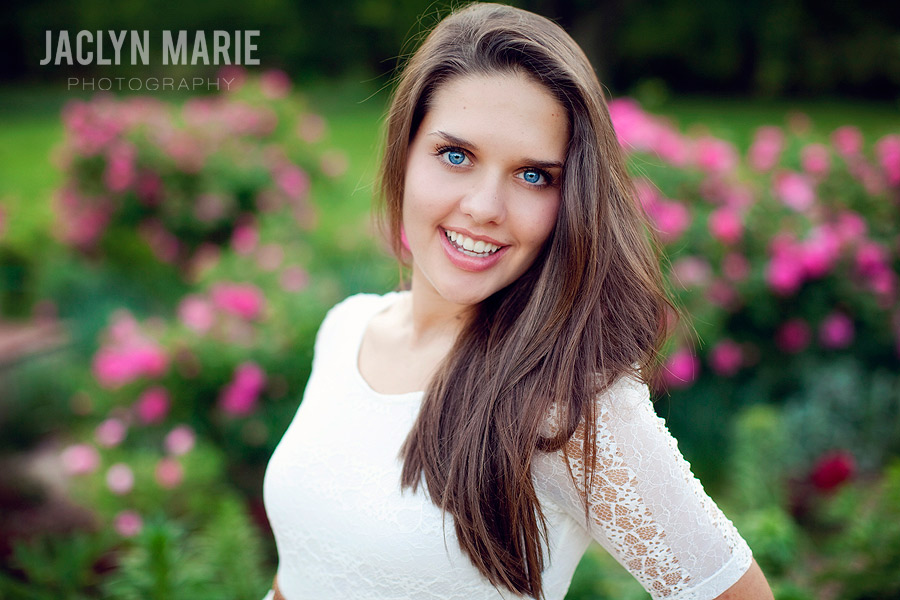 gorgeous senior portrait photo