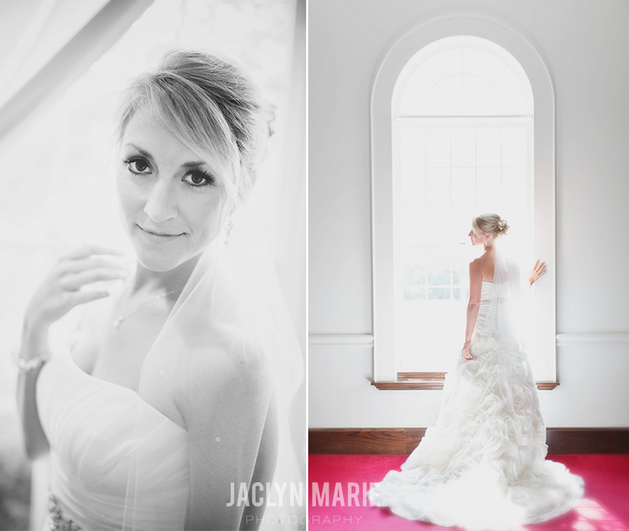 beautiful bride portrait photo
