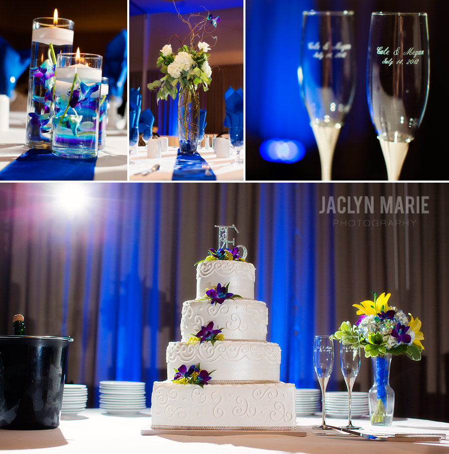 Drury Broadview Hotel wedding reception photo