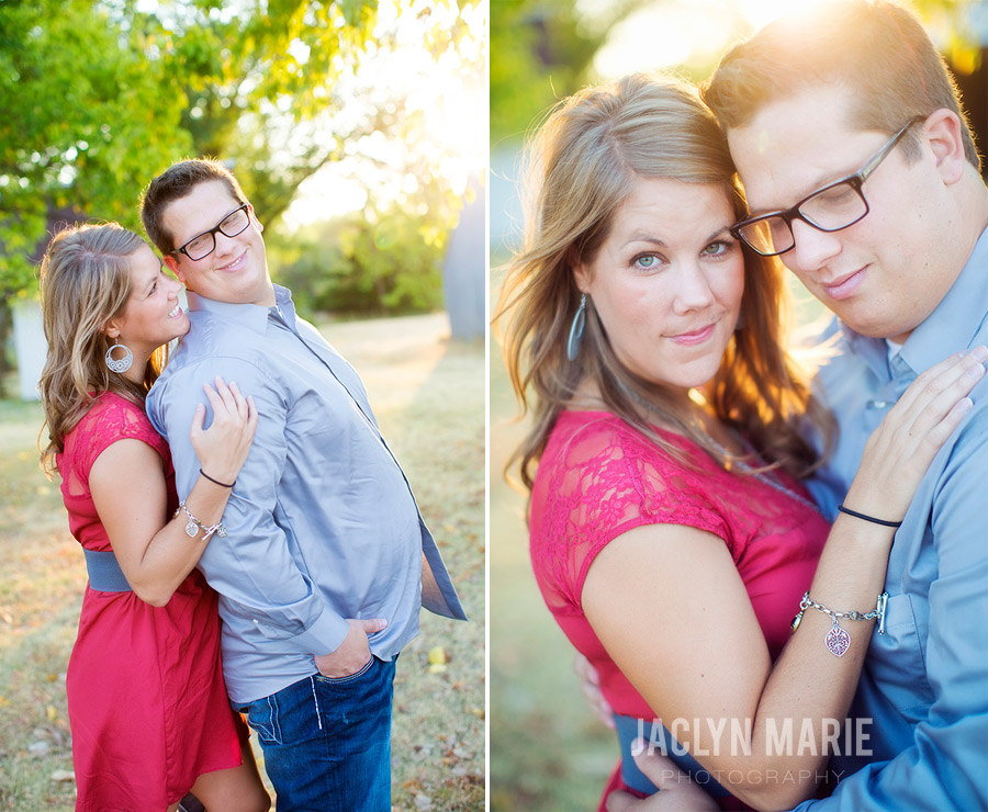 Country engagement session photo