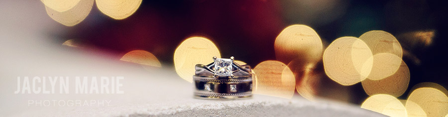 ring shot with lights photo