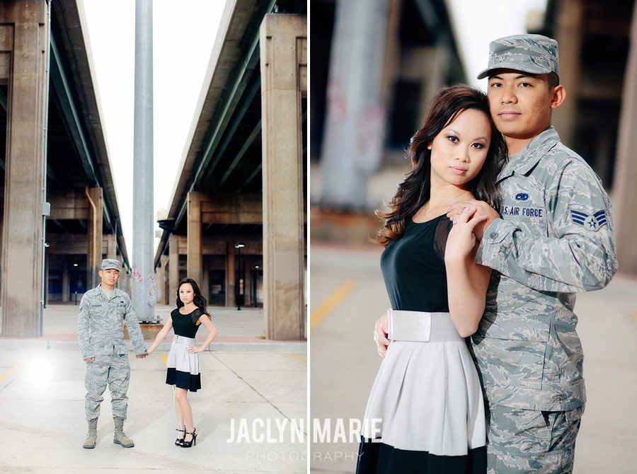 Air Force engagement photo