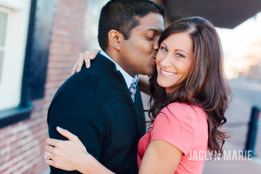 Old Town Wichita engagement session