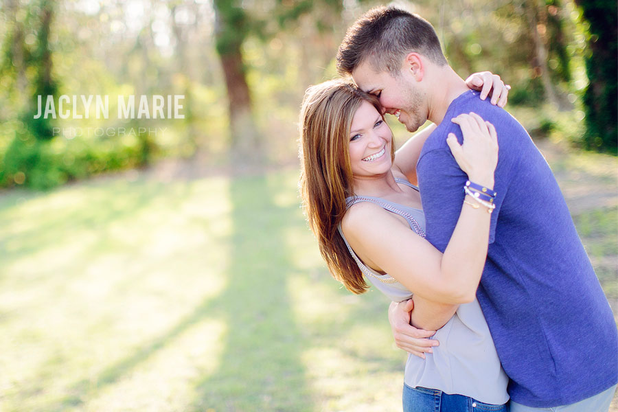 gorgeous engagement photo