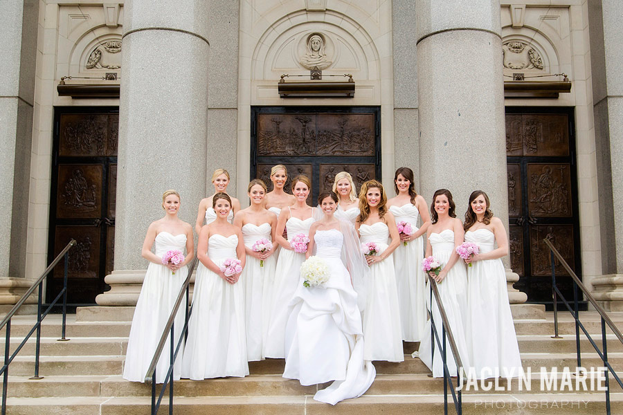 Wichita Cathedral wedding photo