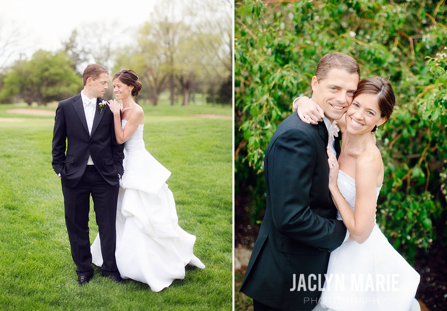Wichita Country Club wedding portrait photo