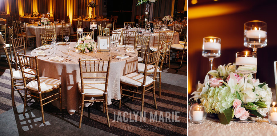 Broadview Hotel wedding reception photo