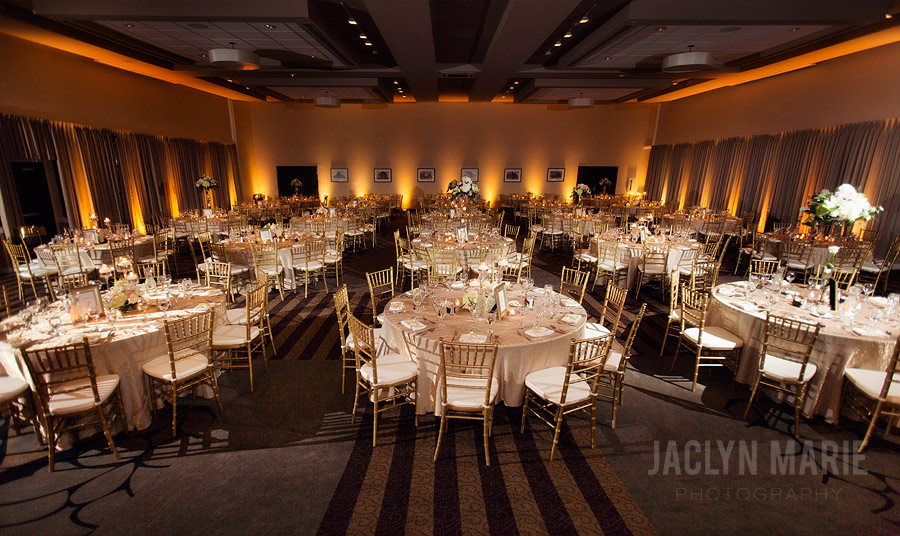 wedding reception venue decor photo